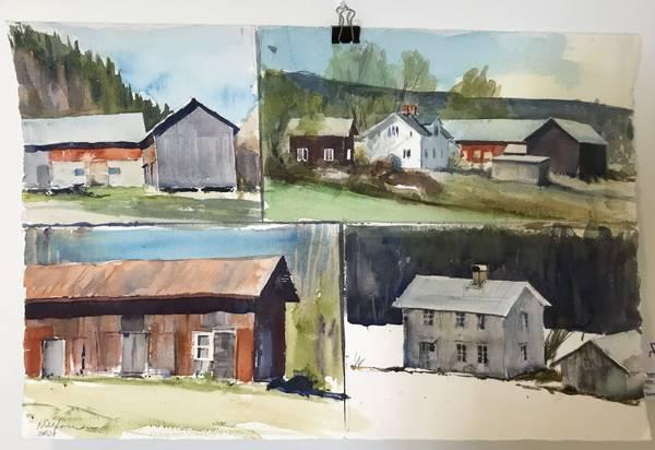 Bilde av Nils Forsman - Min hjembygd