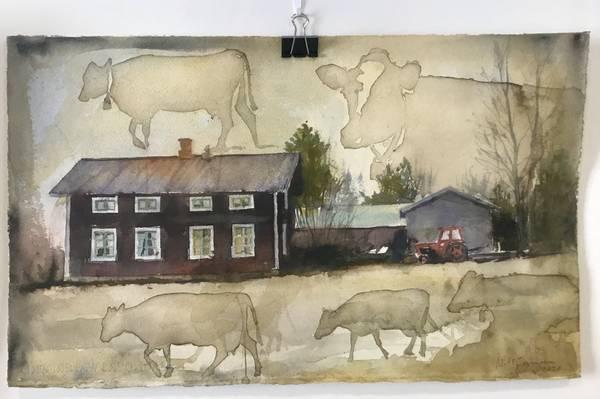 Bilde av Nils Forsman - Torpet og kossorna