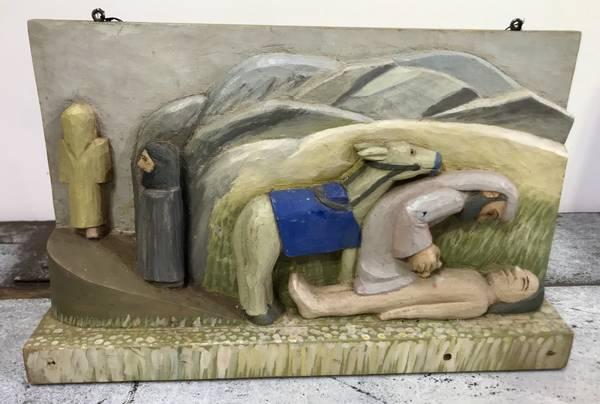 Bilde av Klas Olsen Prtytz - Den barmhjertige samaritan